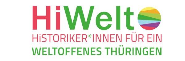 Logo: Arbeitskreis HI-Welt: Historiker*innen für ein weltoffenes Thüringen